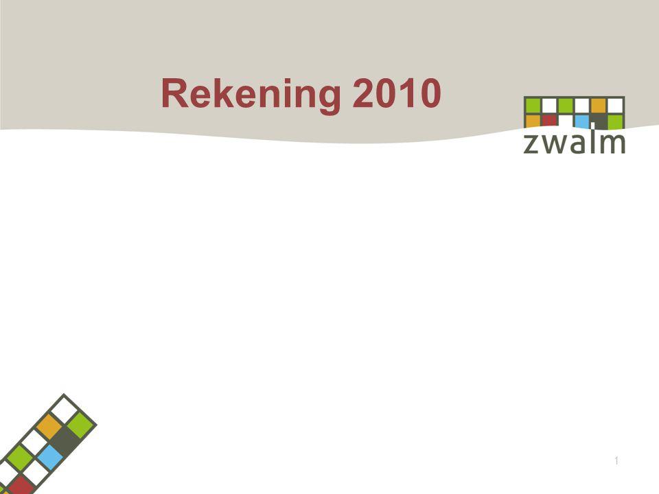 1 Rekening 2010