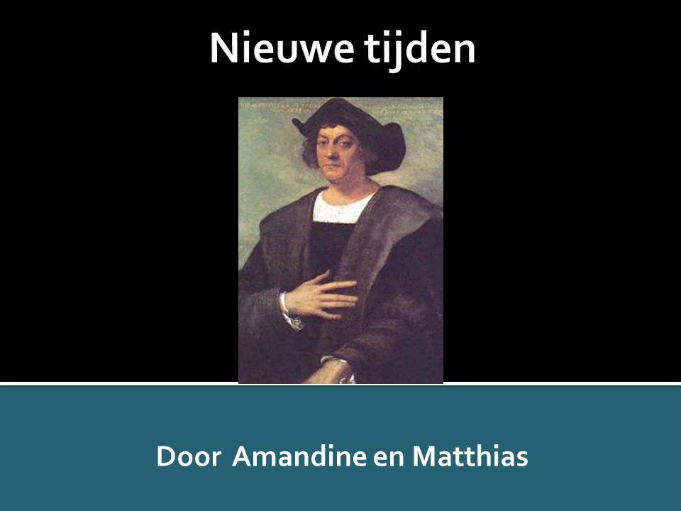 Door Amandine en Matthias