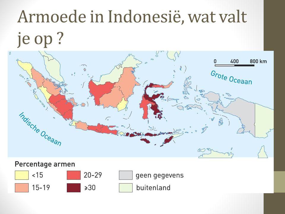 Armoede in Indonesië, wat valt je op ?