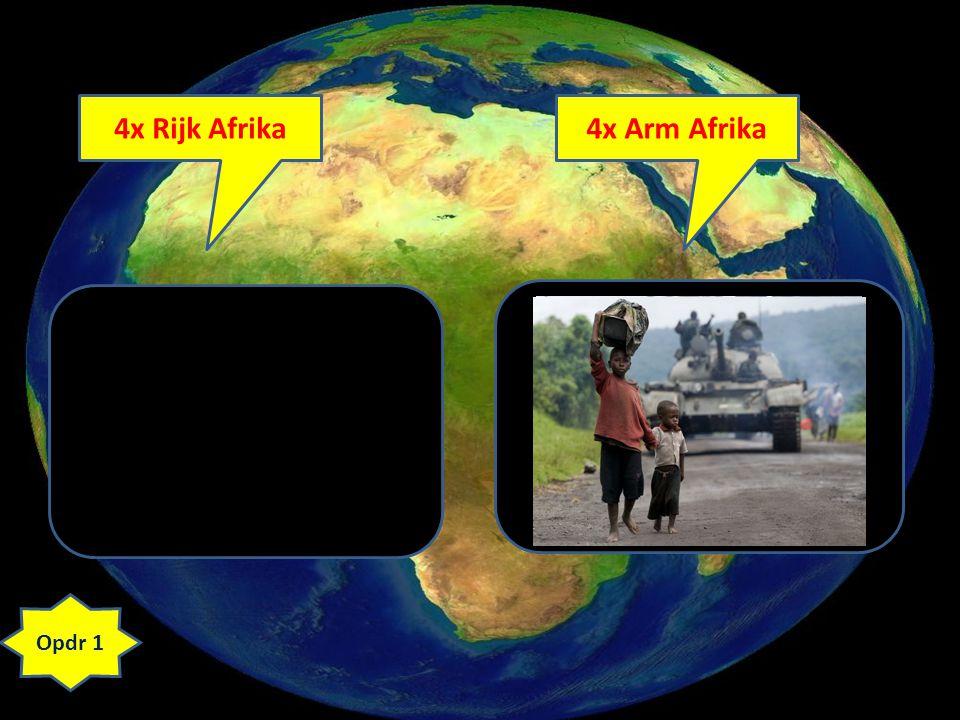 4x Rijk Afrika4x Arm Afrika Opdr 1