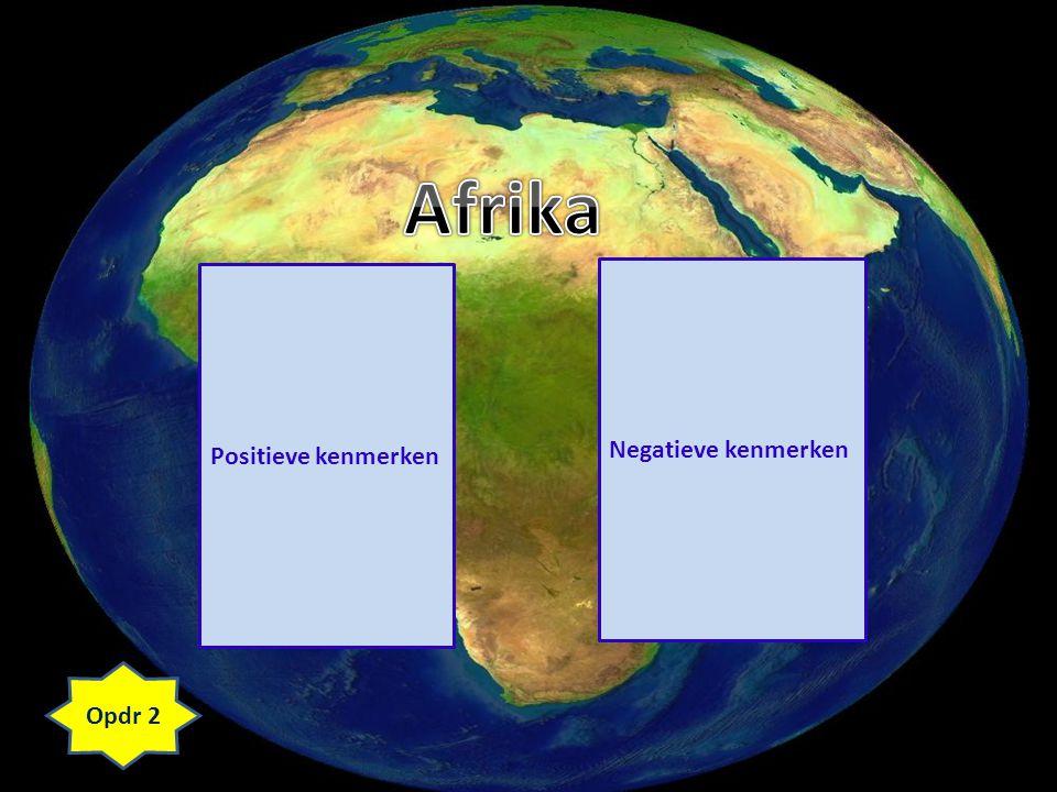 Terug naar START van 'Afrika' Terug naar START van 'Nigeria' Opdr 5+6