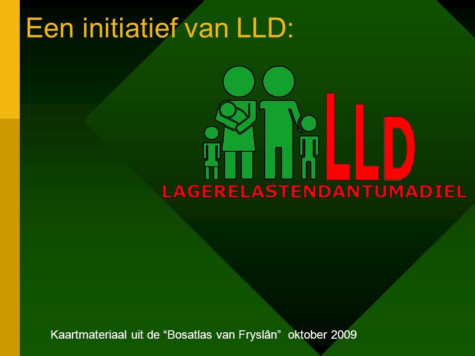 Een initiatief van LLD: Kaartmateriaal uit de Bosatlas van Fryslân oktober 2009