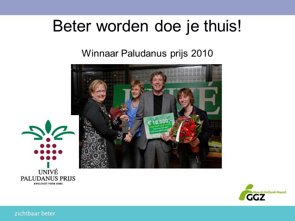 Beter worden doe je thuis! Winnaar Paludanus prijs 2010