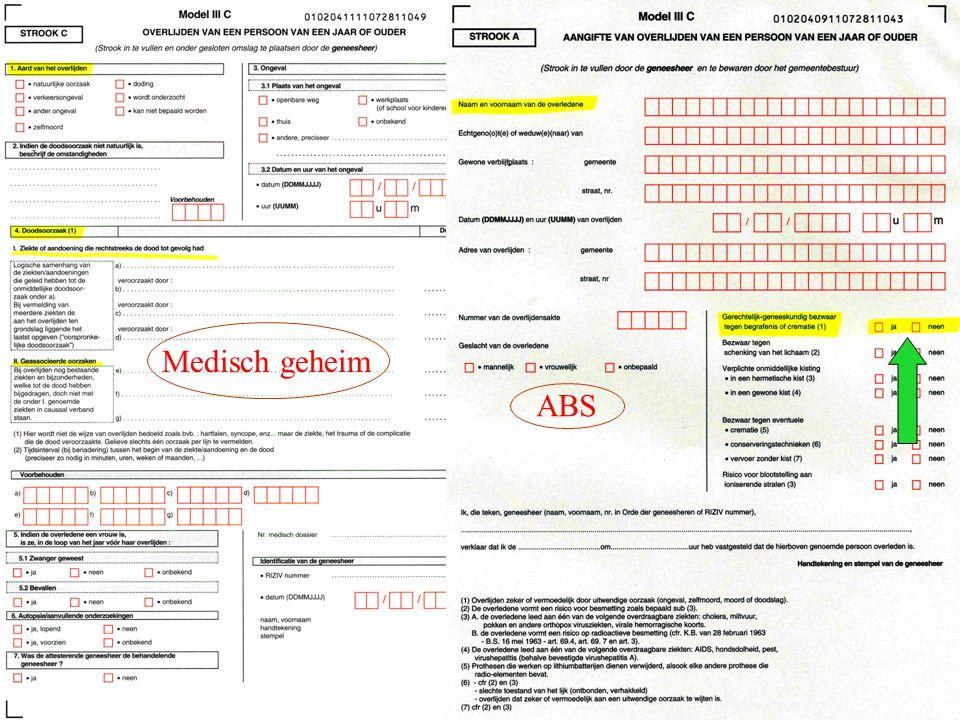 Ipodium AZ Imelda, Bonheiden, 10.11.07 Medisch geheim ABS