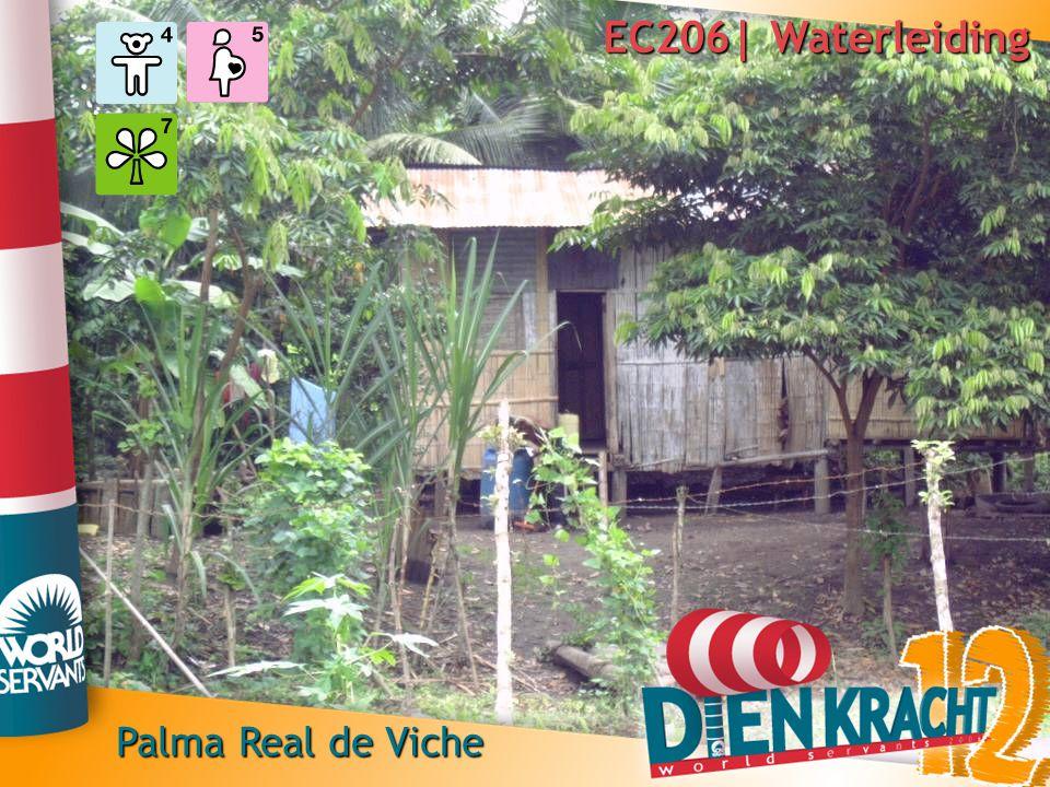 EC206| Waterleiding 04-08 tot 19-08