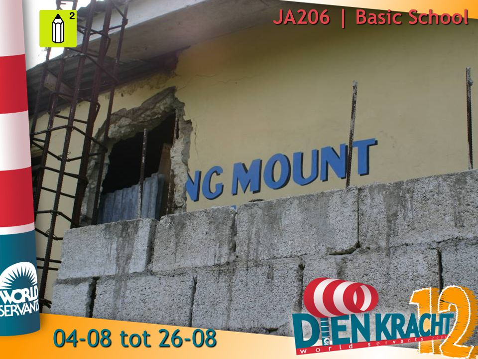JA206 | Basic School 04-08 tot 26-08