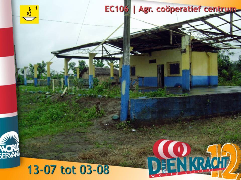 EC106 | Agr. coöperatief centrum 13-07 tot 03-08