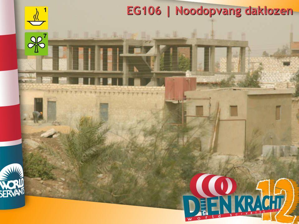 EG106 | Noodopvang daklozen