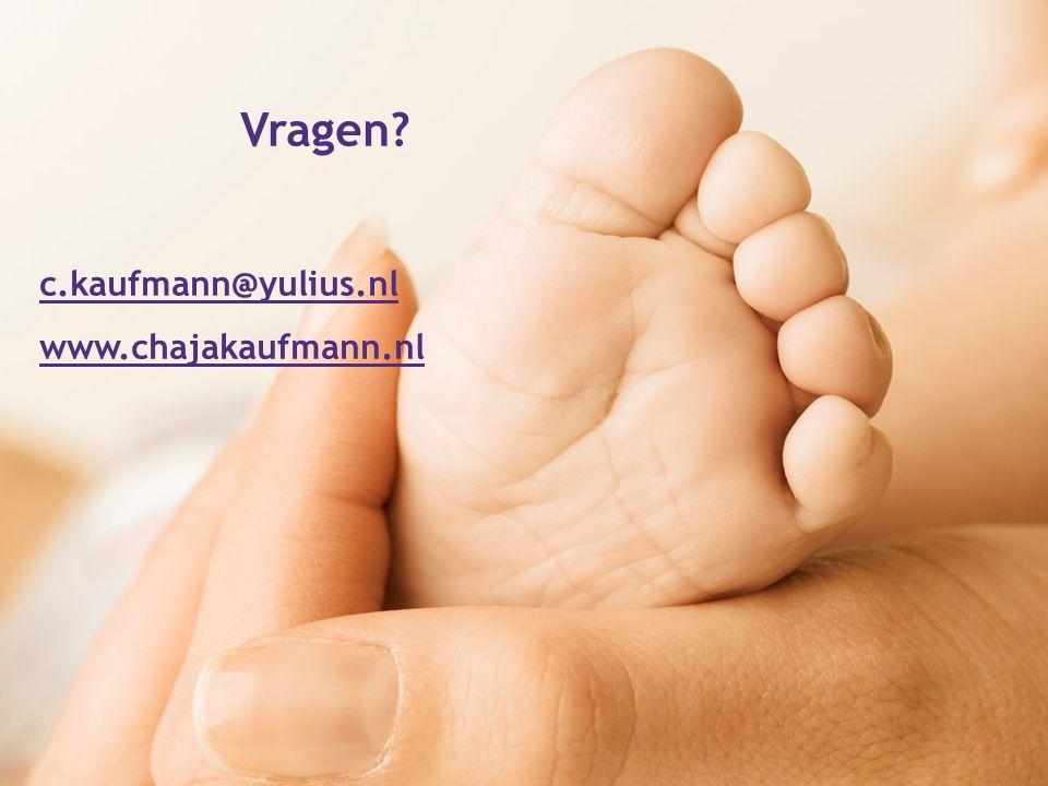 Vragen? c.kaufmann@yulius.nl www.chajakaufmann.nl