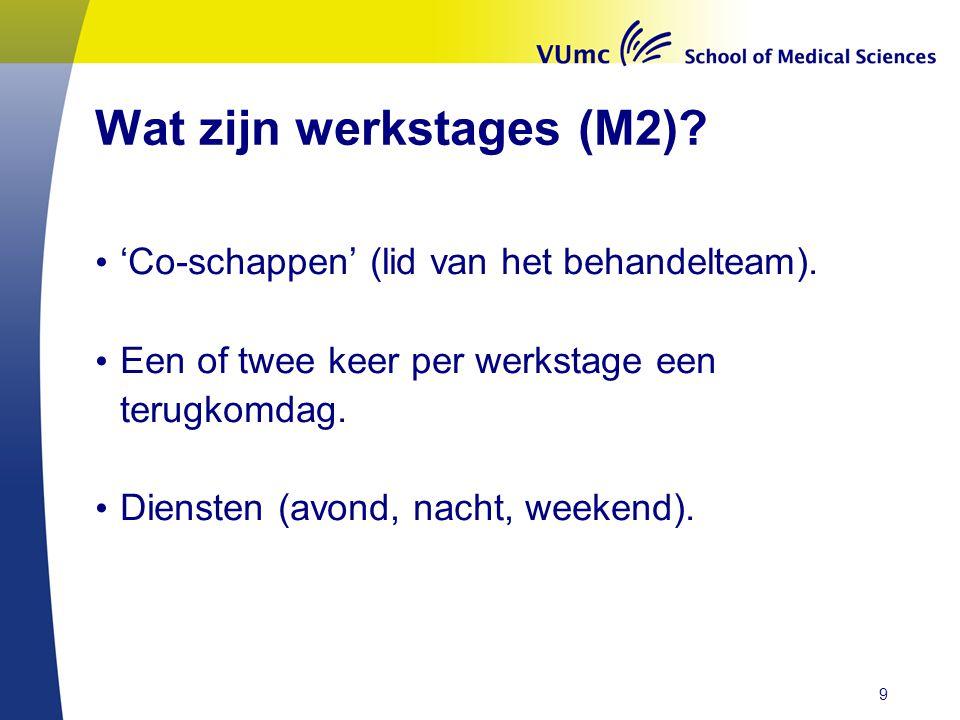 Verlengde wetenschappelijke stage: 24 weken, in M1