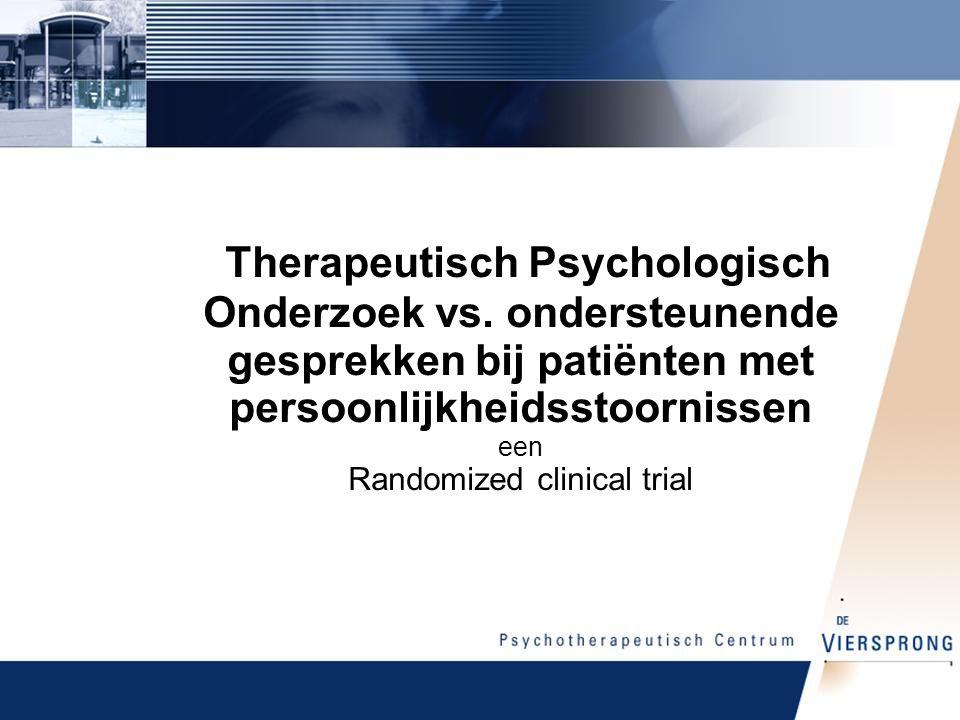 Therapeutisch Psychologisch Onderzoek vs.