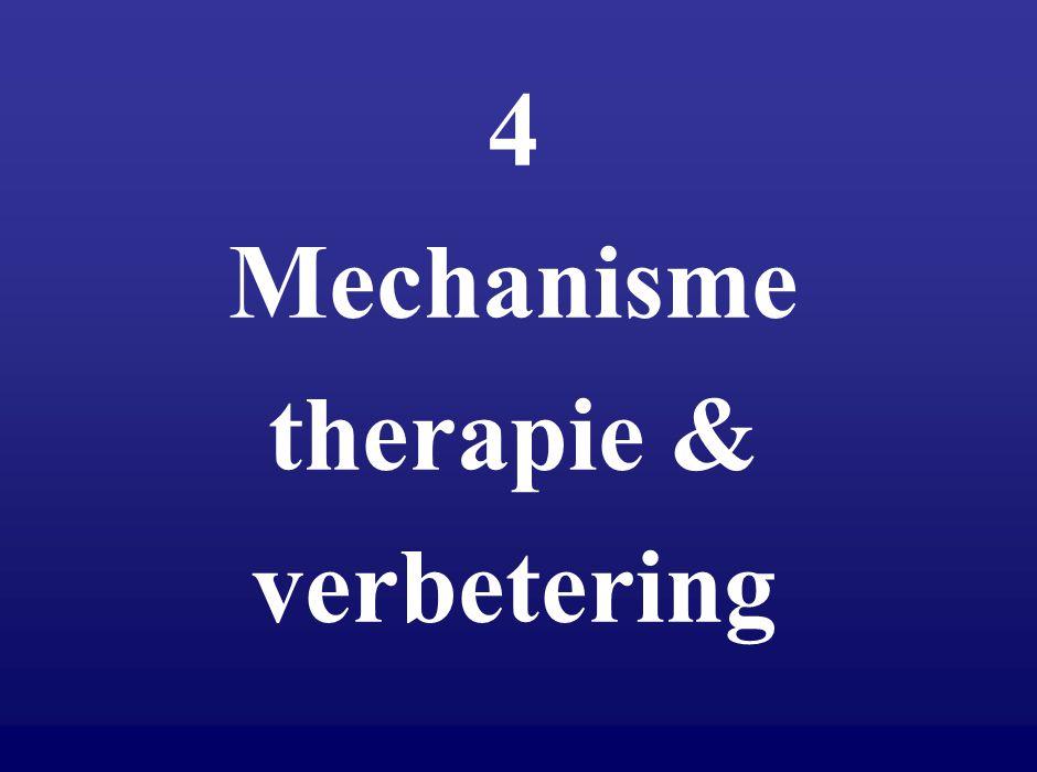 4 Mechanisme therapie & verbetering