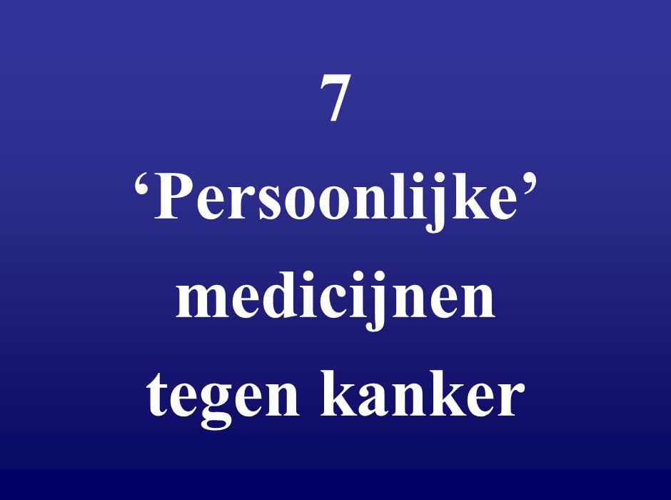 7 'Persoonlijke' medicijnen tegen kanker