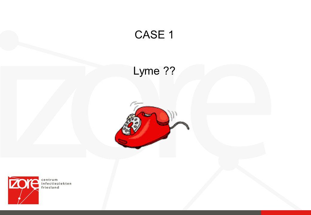 CASE 1 Lyme ??