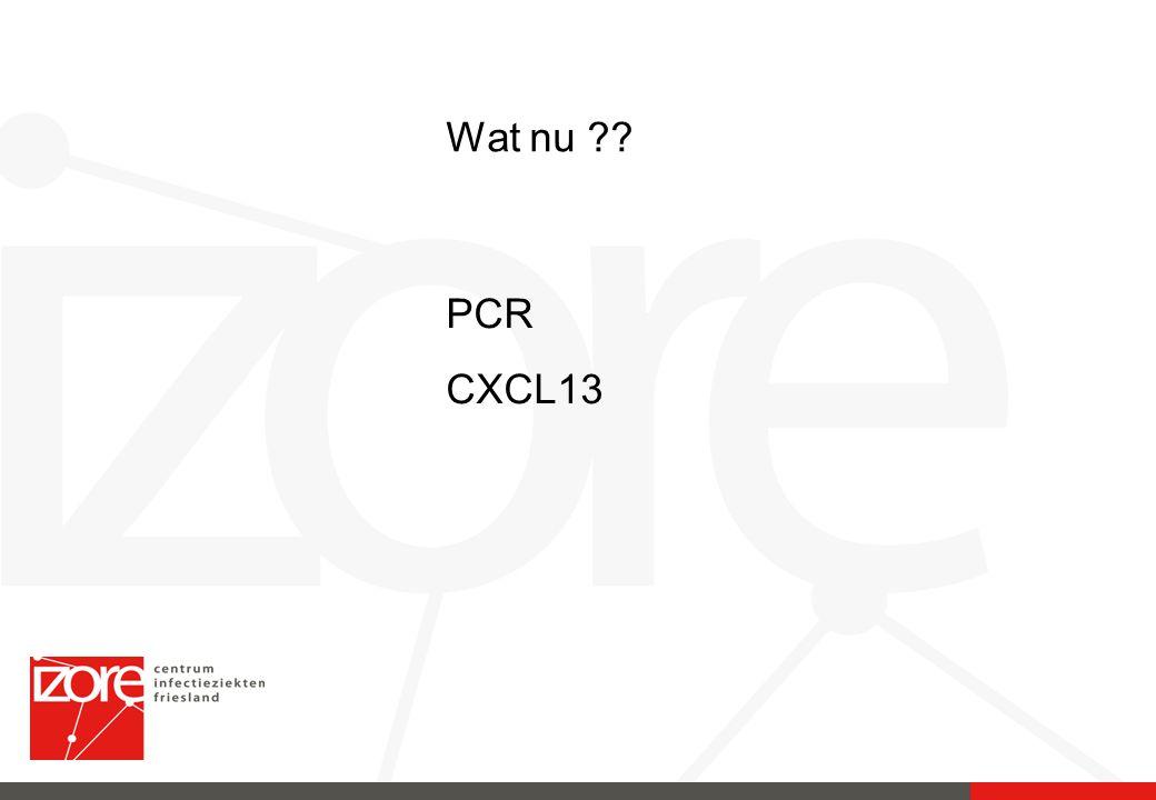 PCR CXCL13