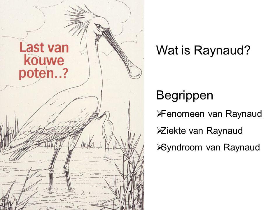 Wat is Raynaud. Fenomeen van Raynaud  Ziekte van Raynaud  Syndroom van Raynaud Wie was Raynaud.