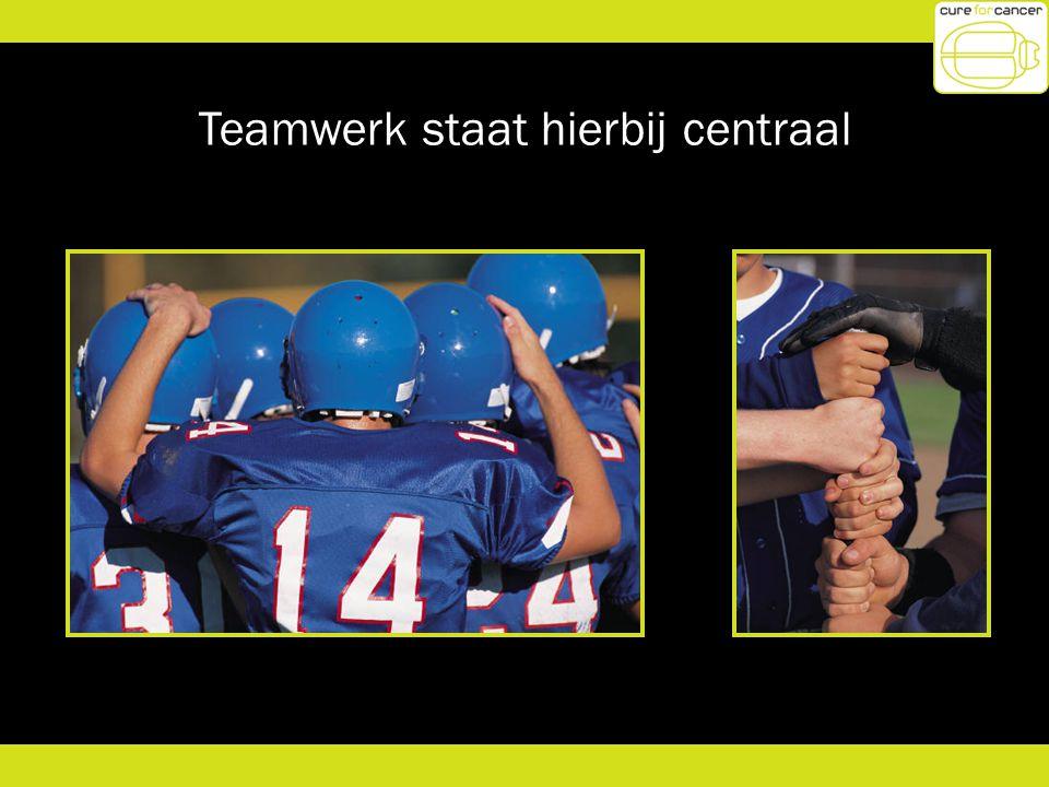 Teamwerk staat hierbij centraal