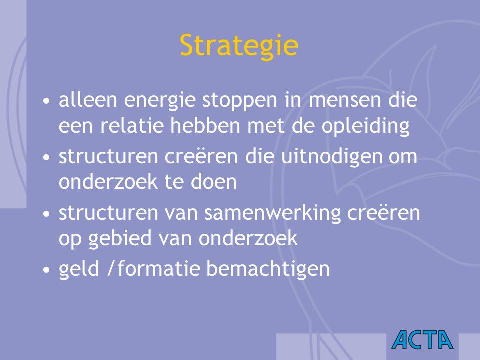 Strategie alleen energie stoppen in mensen die een relatie hebben met de opleiding structuren creëren die uitnodigen om onderzoek te doen structuren v
