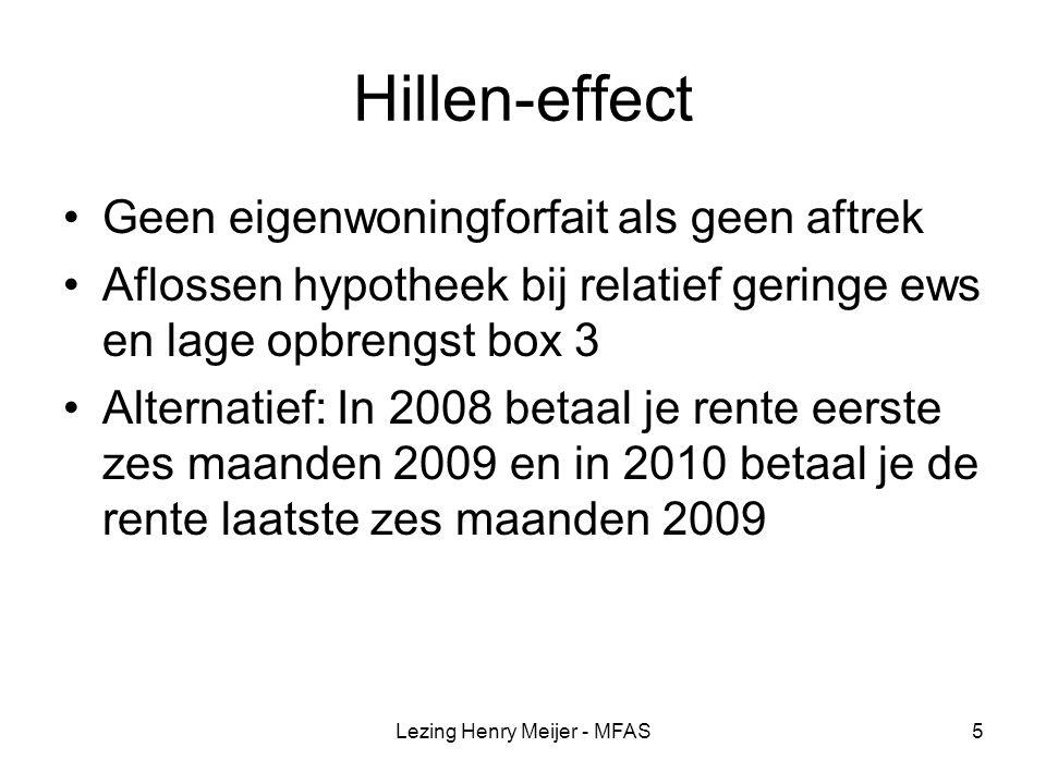 Lezing Henry Meijer - MFAS6 Renteloze personeelslening dga MvF 22 augustus 2007, nr.