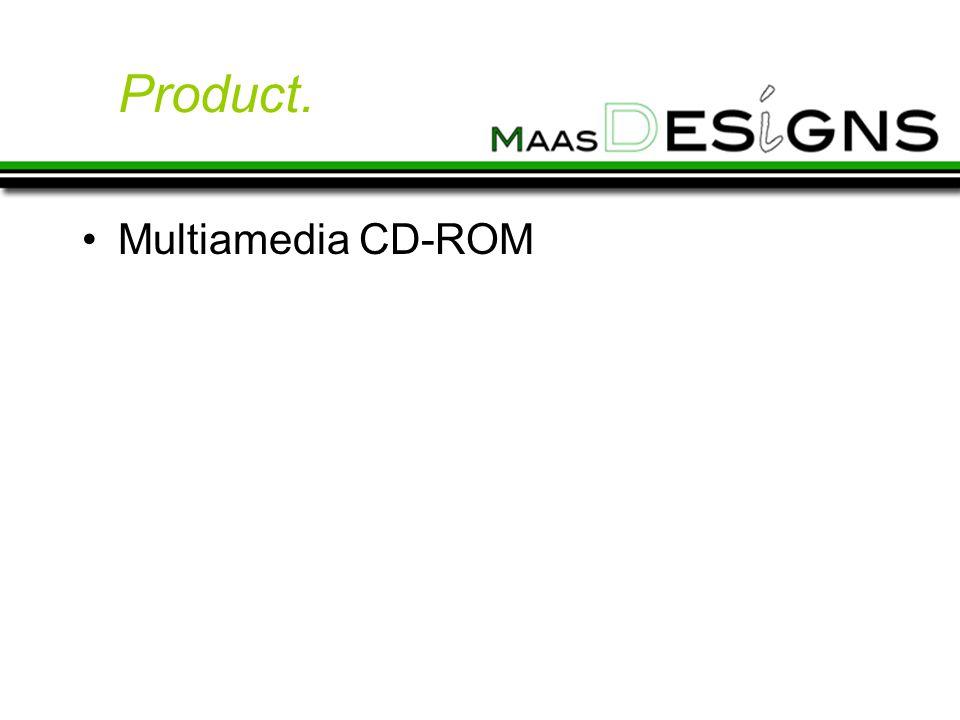 Product. Multiamedia CD-ROM