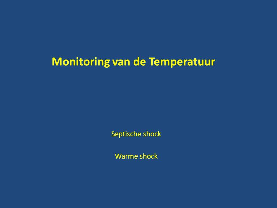 Monitoring van de Temperatuur Septische shock Warme shock