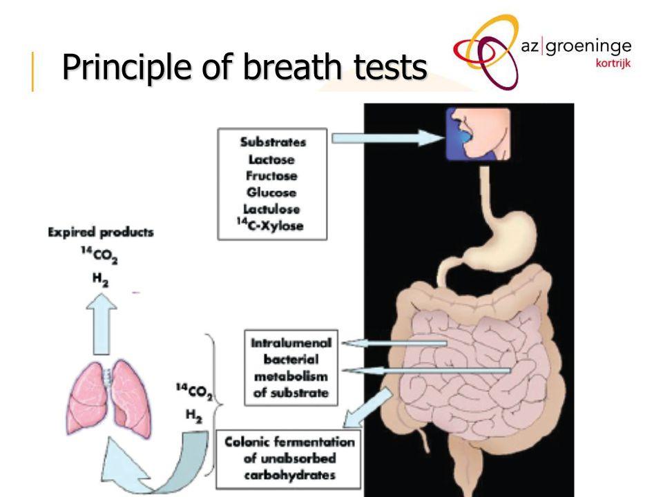 Principle of breath tests