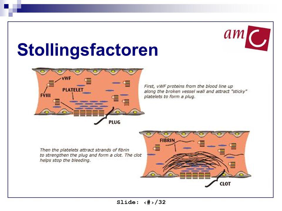 Slide: ‹#›/32 Stollingsfactoren