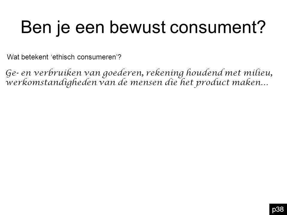 Ben je een bewust consument? Wat betekent 'ethisch consumeren'? Ge- en verbruiken van goederen, rekening houdend met milieu, werkomstandigheden van de