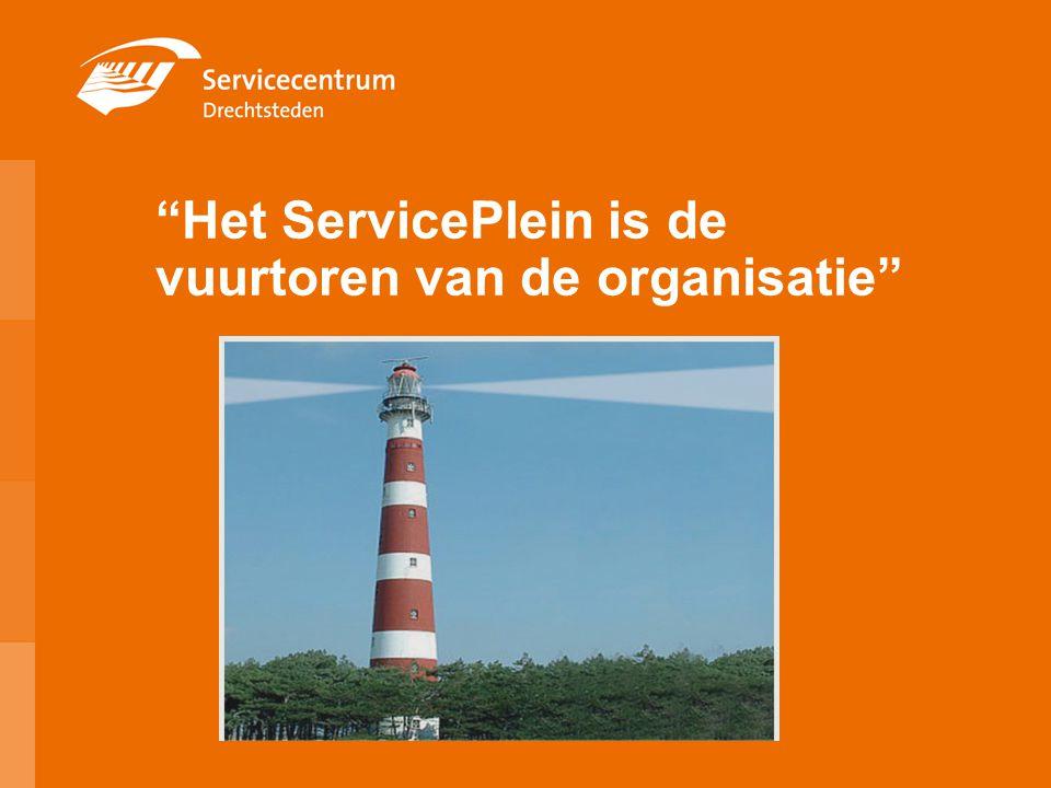 """""""Het ServicePlein is de vuurtoren van de organisatie"""""""