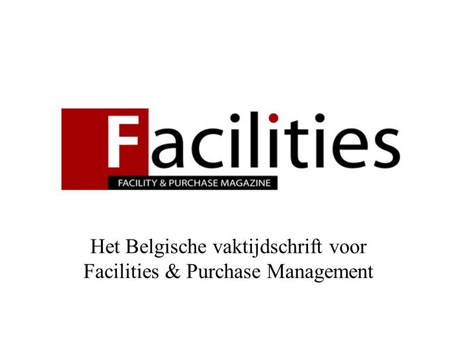 Het Belgische vaktijdschrift voor Facilities & Purchase Management