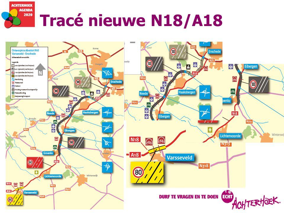 Tracé nieuwe N18/A18