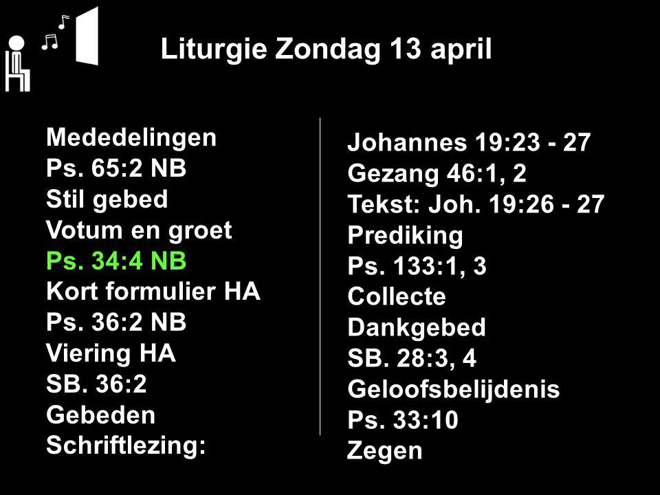 Collecte Vandaag bestemd voor: 1:Kerk 2:Avondsmaalcollecte Uitgang: Rente, aflossing en onderhoud
