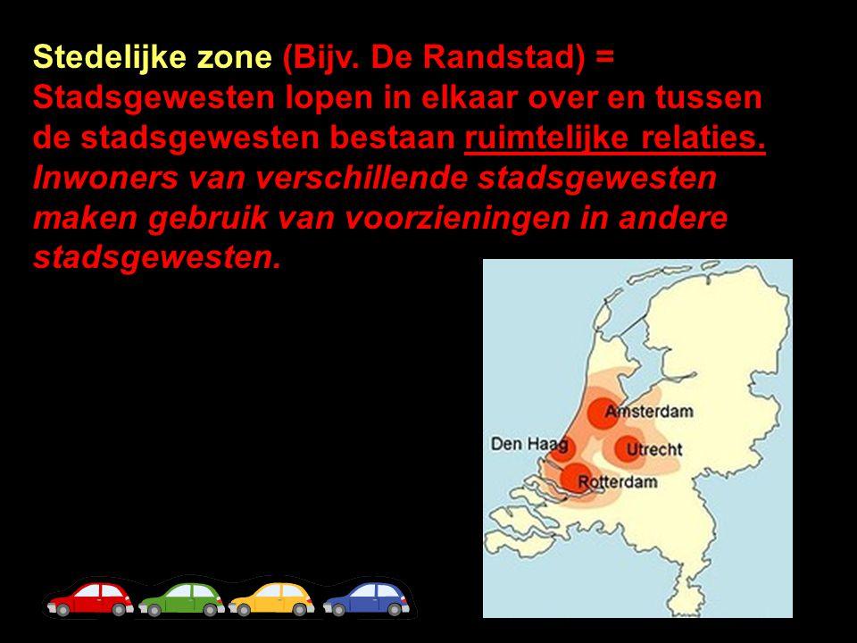 Stedelijke zone (Bijv.