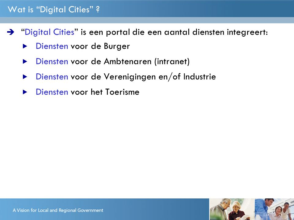 Wat is Digital Cities .
