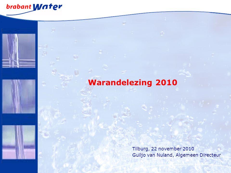 Warandelezing 2010 Tilburg, 22 november 2010 Guïljo van Nuland, Algemeen Directeur