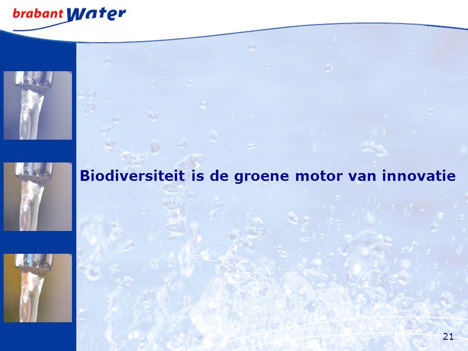 Biodiversiteit is de groene motor van innovatie 21