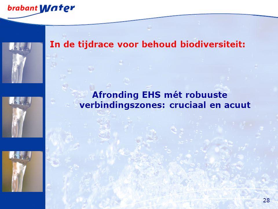 In de tijdrace voor behoud biodiversiteit: Afronding EHS mét robuuste verbindingszones: cruciaal en acuut 28