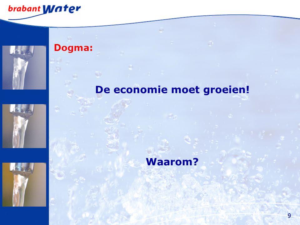 Dogma: De economie moet groeien! Waarom 9