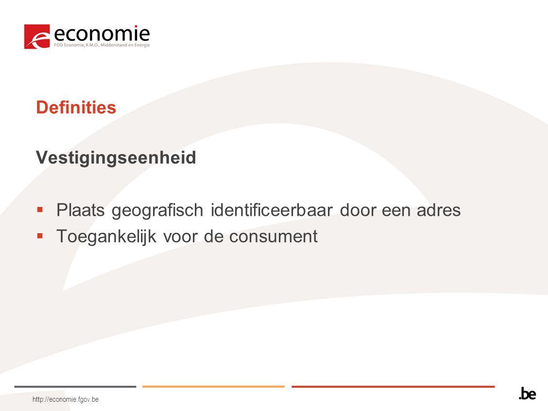 http://economie.fgov.be Toepassingsgebied  Kleinhandel (daarin begrepen de nachtwinkels)  Mogelijkheid tot uitsluiting van bepaalde sectoren van de kleinhandel bij K.B.