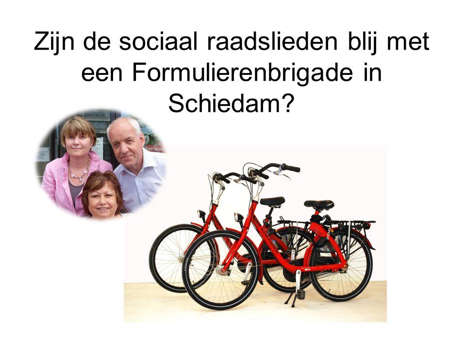 Zijn de sociaal raadslieden blij met een Formulierenbrigade in Schiedam?