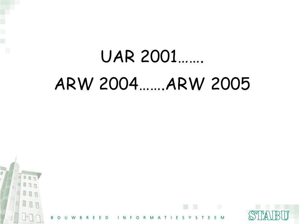 UAR 2001……. ARW 2004…….ARW 2005