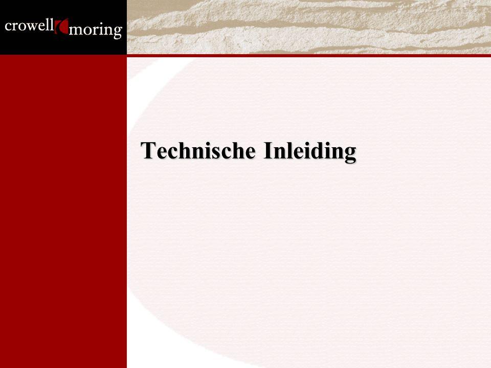 Technische Inleiding