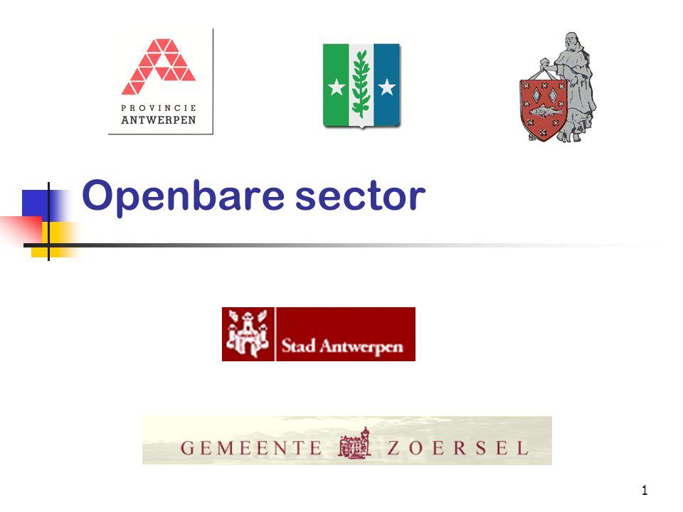 1 Openbare sector