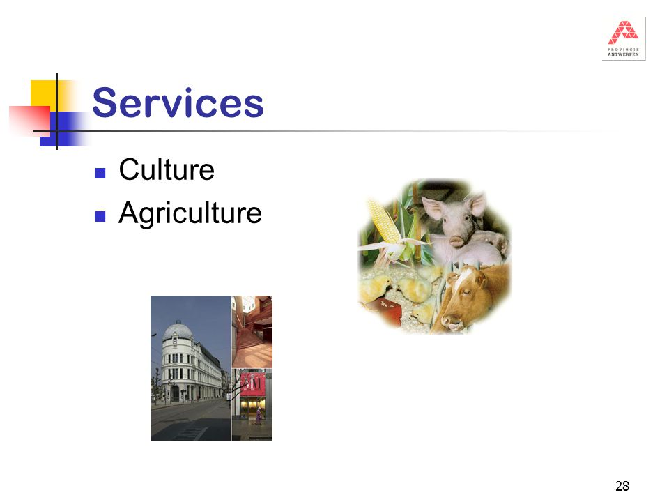 28 Services Culture Agriculture