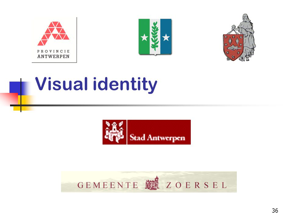 36 Visual identity