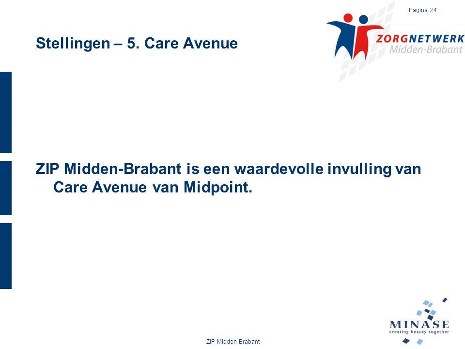 Stellingen – 5. Care Avenue ZIP Midden-Brabant is een waardevolle invulling van Care Avenue van Midpoint. ZIP Midden-Brabant Pagina: 24