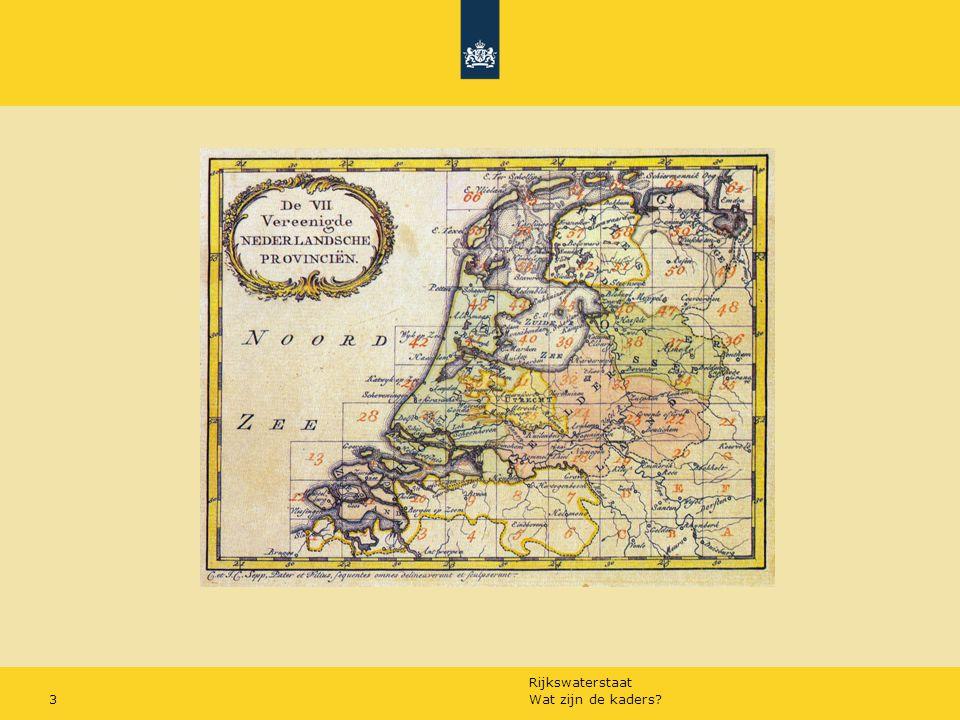 Rijkswaterstaat Wat zijn de kaders?3