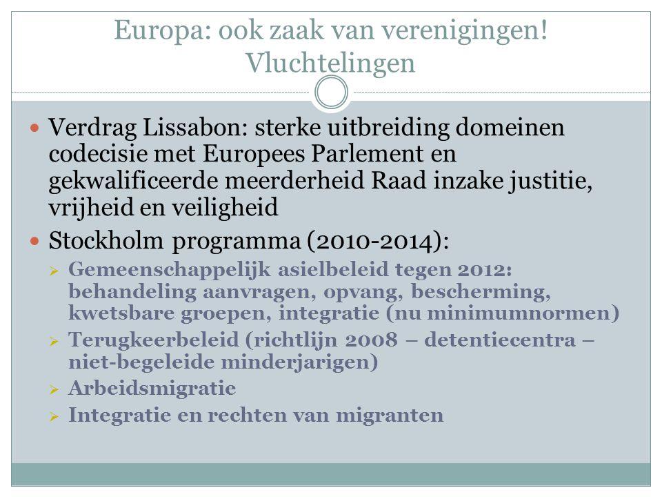 Europa: ook zaak van verenigingen.