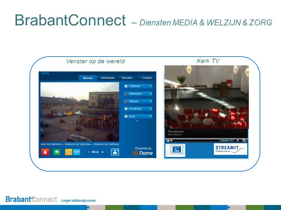 Kerk TV Venster op de wereld BrabantConnect – Diensten MEDIA & WELZIJN & ZORG
