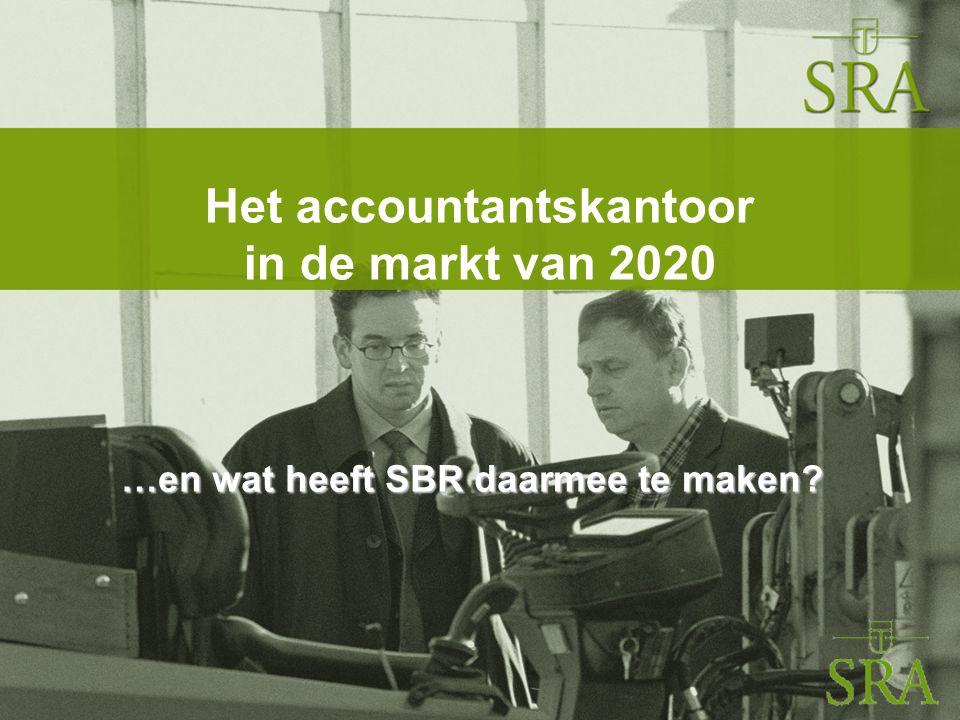 Symposium XBRL voor de Young Professional Hogeschool Rotterdam, 4 februari 2011 2 Ontwikkelingen 2010-2020 ■Oude vormen van dienstverlening staan onder druk ■Oorzaken: –Veranderende marktomstandigheden –Toenemende mogelijkheden ICT ■Impact op gehele kantoororganisatie ■SRA: blauwdruk voor 2020